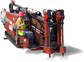 Pipe Drilling Rig